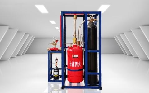 外贮压(备压)式七氟丙烷灭火系统