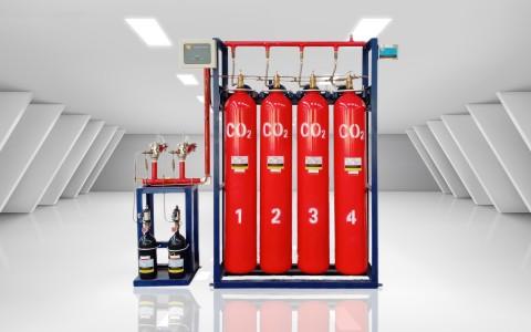 高压二氧化碳气体灭火系统