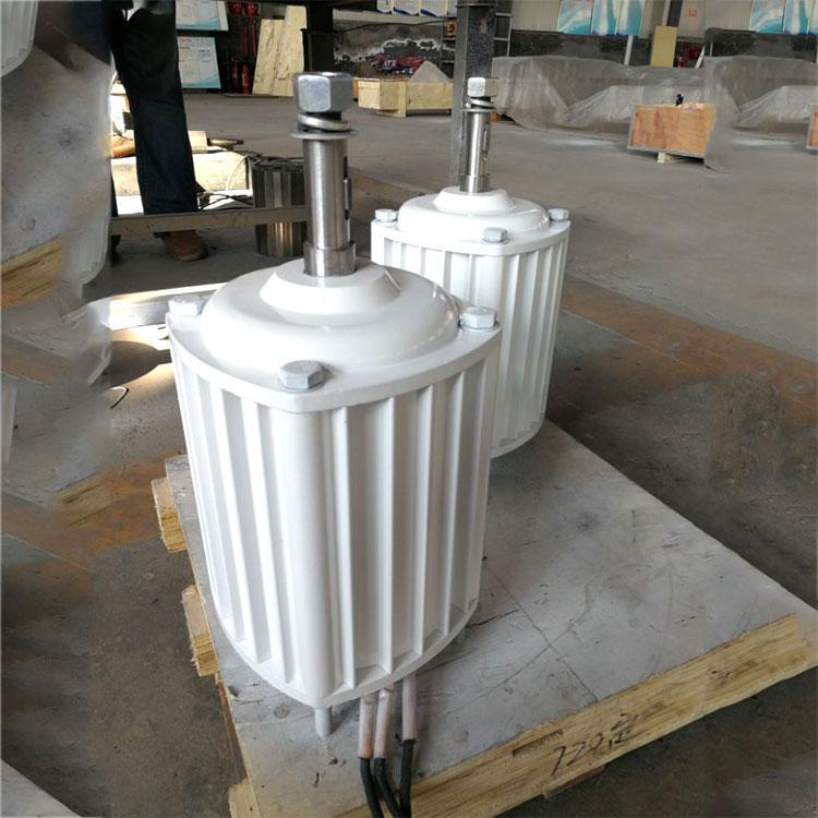 蓝润2KW低速永磁发电机 实验用永磁发电机 转速电压可定制