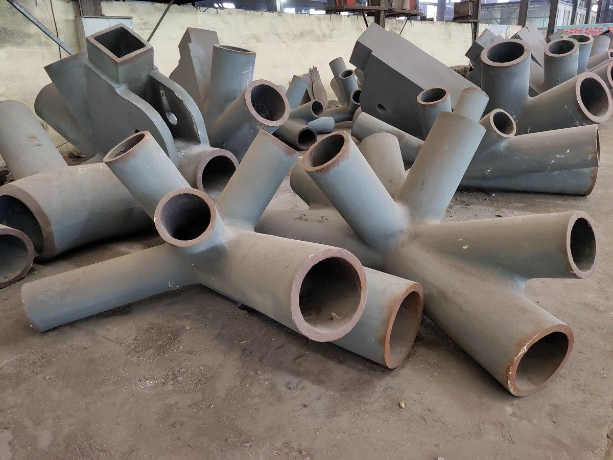 杭州奥体铸钢节点