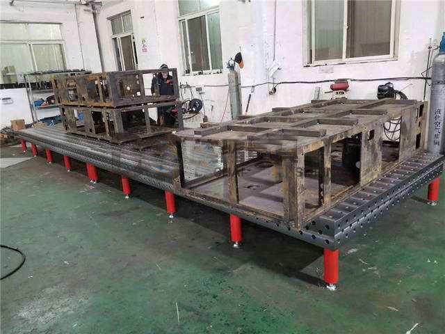 三维柔性焊接平台案例