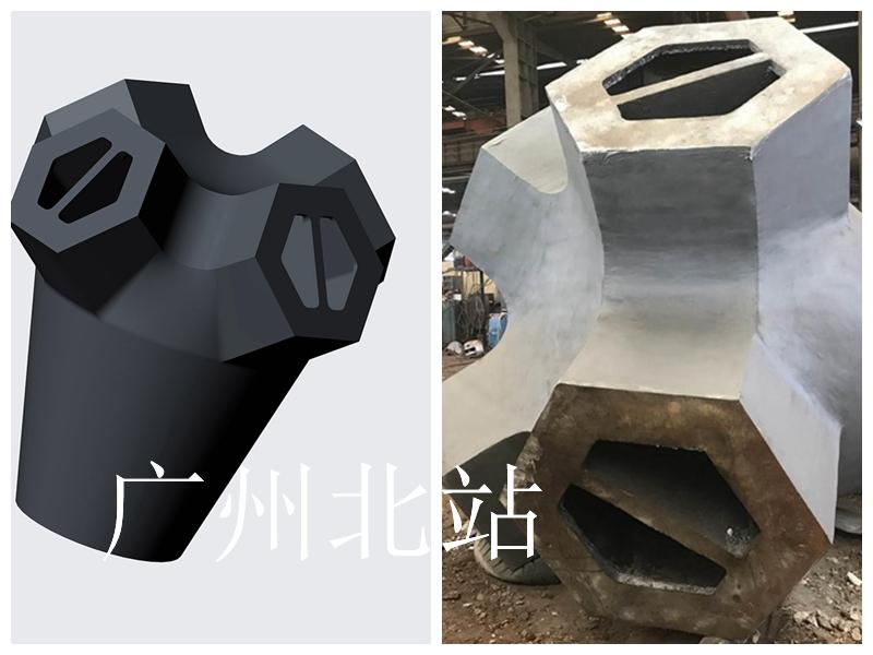大型铸钢厂 铸钢节点 钢铸件 铸钢件  钢结构铸钢节点厂家