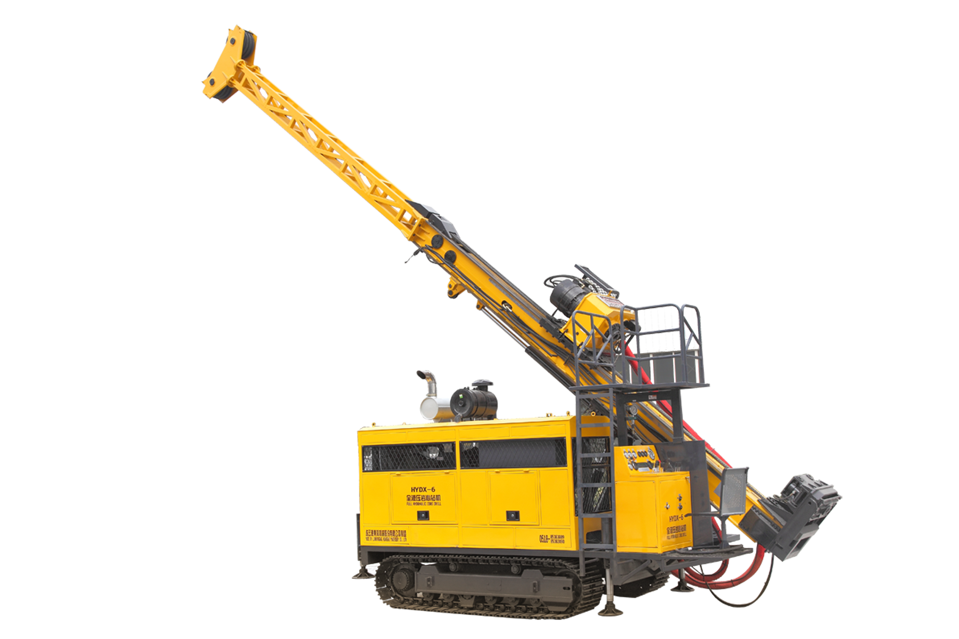 全液压岩心钻机200-2000米系列