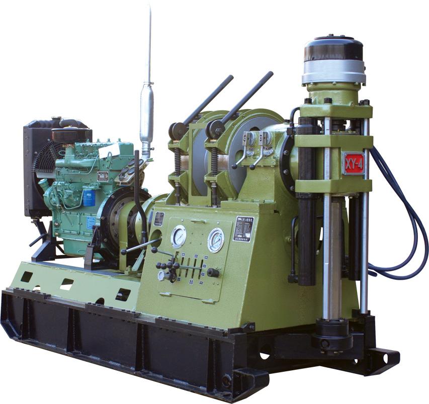 黄海XY-4型岩心钻机1000米取芯钻机