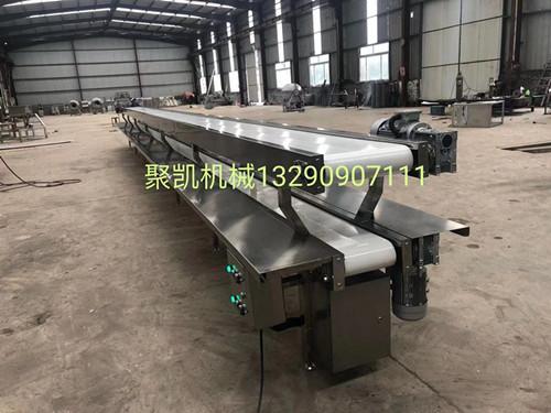 定制爬坡输送机 自动提升机 食品输送机