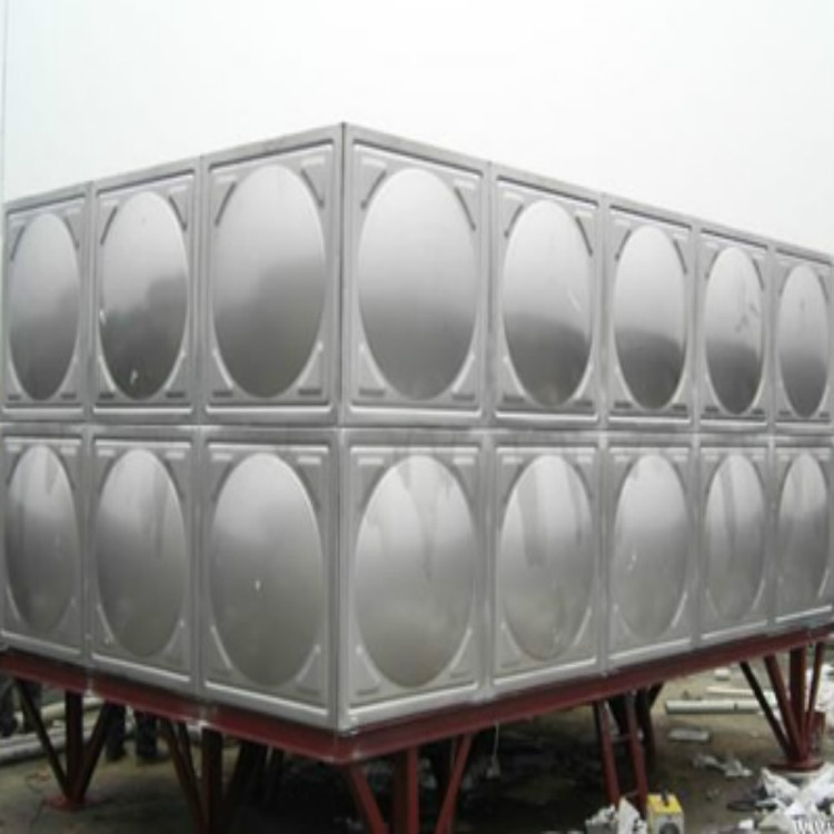 厂家供应304不锈钢水箱 方形消防保温水箱 组合式不锈钢焊接