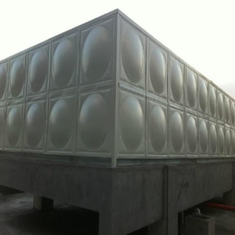 定制组合式搪瓷钢板水箱 消防饮用水箱 装配式人防搪瓷水箱