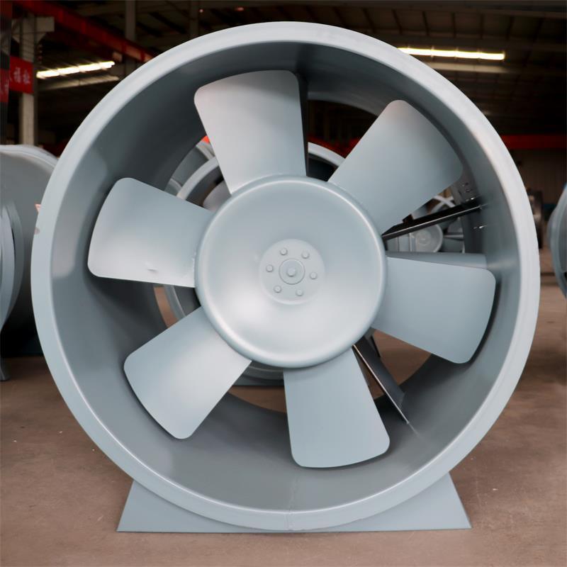德州HTF高温排烟轴流式单双速排烟风机 消防排烟风机