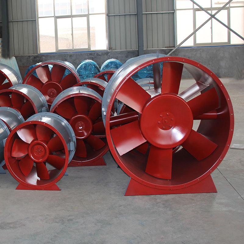 厂家 消防排烟风机地下车库轴流式排烟风机低噪音高温排烟风机