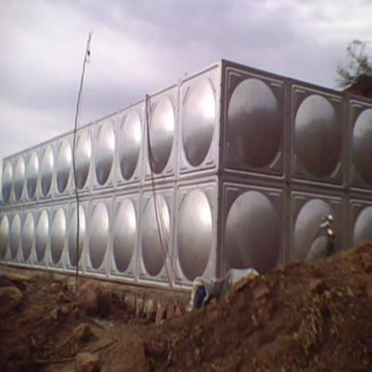 厂家供304不锈钢 保温水箱 组合式不锈钢消防屋顶水箱 不锈