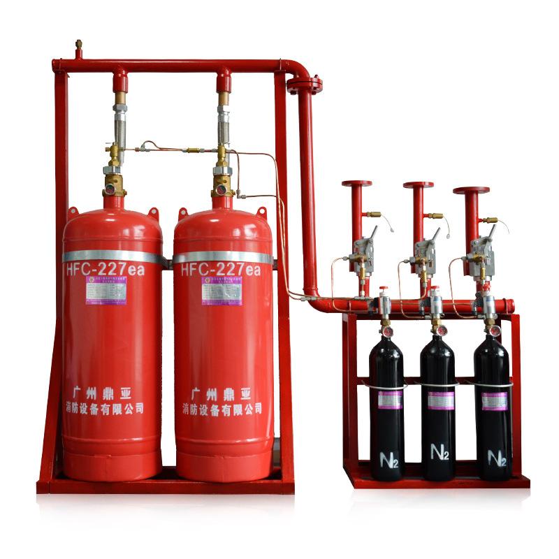 鼎亚 QMQ4.2/100N-DY 管网式七氟丙烷气体灭火系