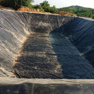 土工膜厂家直供 养藕专用土工膜 安徽 绿色环保