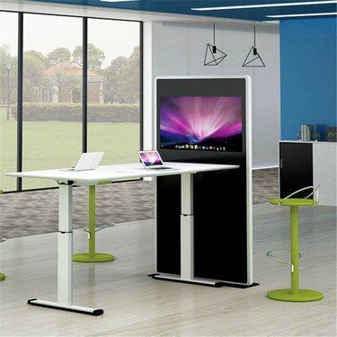 电动升降桌 办公家具 大量现货电动升降桌行情报价