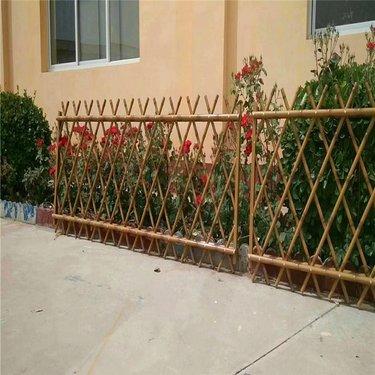 新型竹节护栏 公园竹艺围栏 仿竹子栅栏