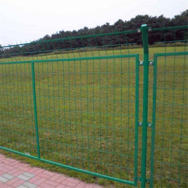 框架护栏网 基坑铁围网 绿色铁丝网
