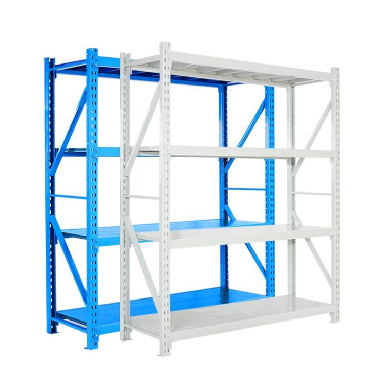 仓库仓储货架 冷轧钢材质150kg 轻型层板货架