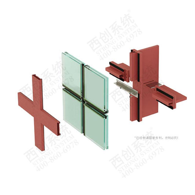 西创系统精制钢直角钢型材-T型材