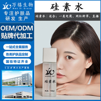 广东万禧贴牌代加工硅素水美容院OEM化妆品贴牌定制