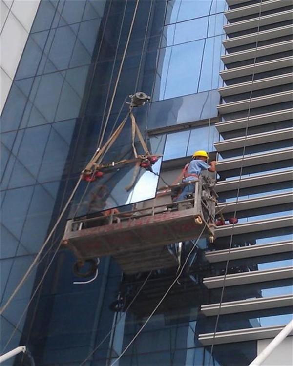 玻璃外墙拆装 外墙玻璃保养  安装玻璃工程