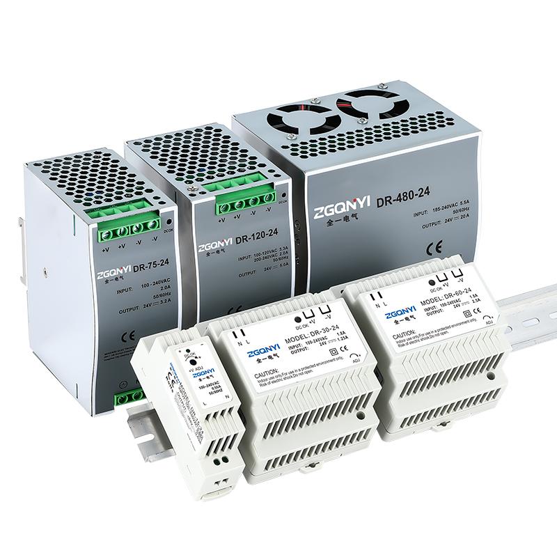 明伟电源开关电源DR-60-24导轨电源接触器电源