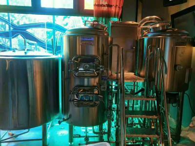 小型酒吧啤酒设备 啤酒设备机器  300升啤酒设备