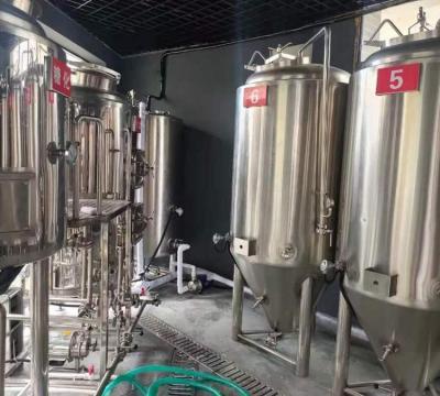 500升自酿啤酒设备